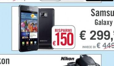 Samsung Galaxy S2 prezzo
