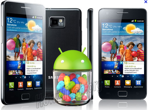 Samsung Galaxy S2 Android Jelly Bean