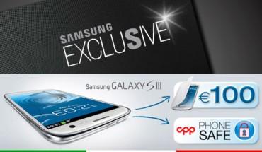 Samsung Galaxy S3 accessori buono 100 euro