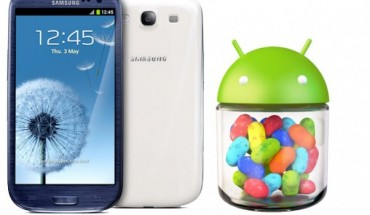 Galaxy S3 aggiornamento Android Jelly Bean