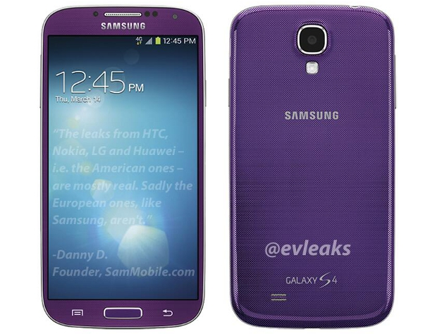 Samsung Galaxy S4 Purple Mirage