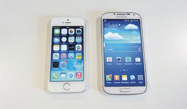 11mar-AggiornamentoGalaxy-Galaxy-S5-vs-iPhone-5s