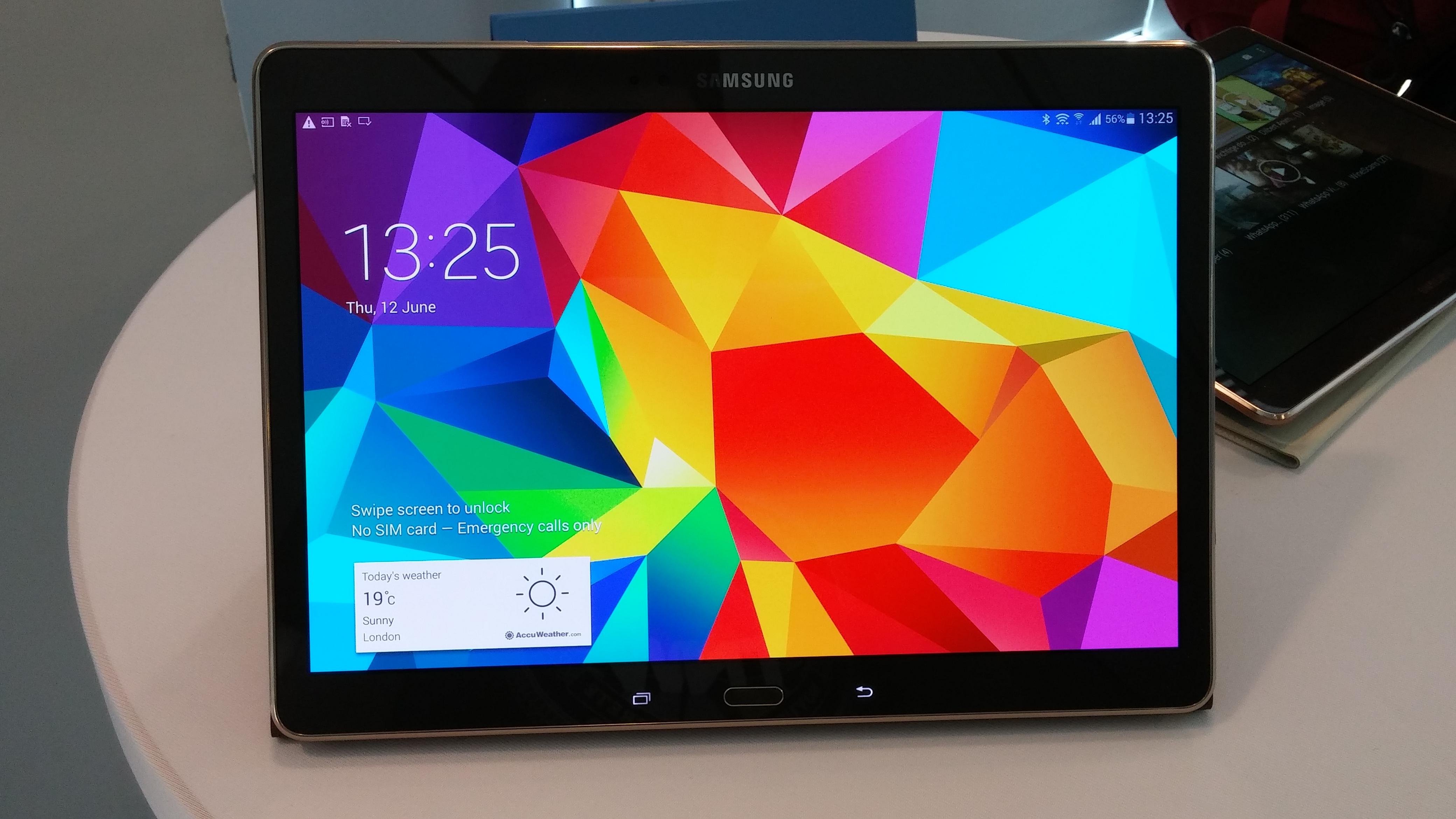 Samsung Galaxy Tab S 10.5 e le sue specifiche tecniche