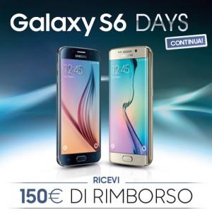 Samsung Galaxy S6 promozione