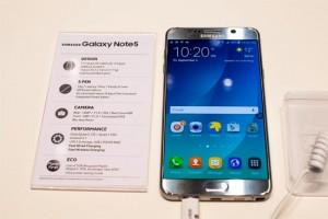 Samsung Galaxy Note 5 uscita