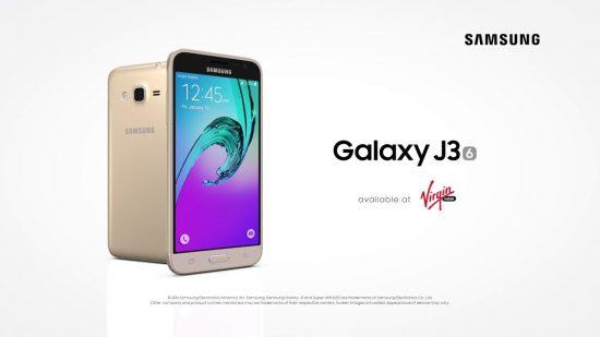Samsung Galaxy J3 new version