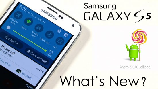 Samsung Galaxy S5 no brand Android