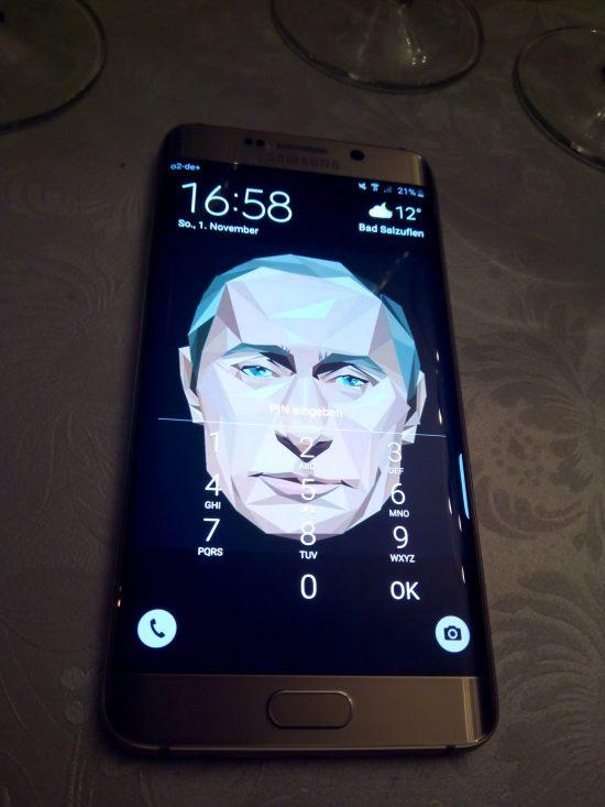 Samsung Galaxy S7 Putin Edition